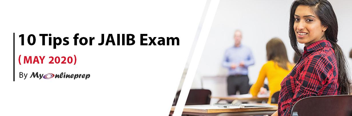 10 tips for JAIIB exam (Nov 2019)