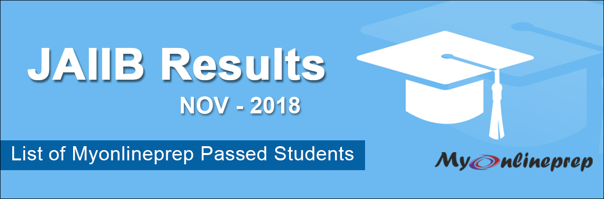 JAIIB Results Nov 2018